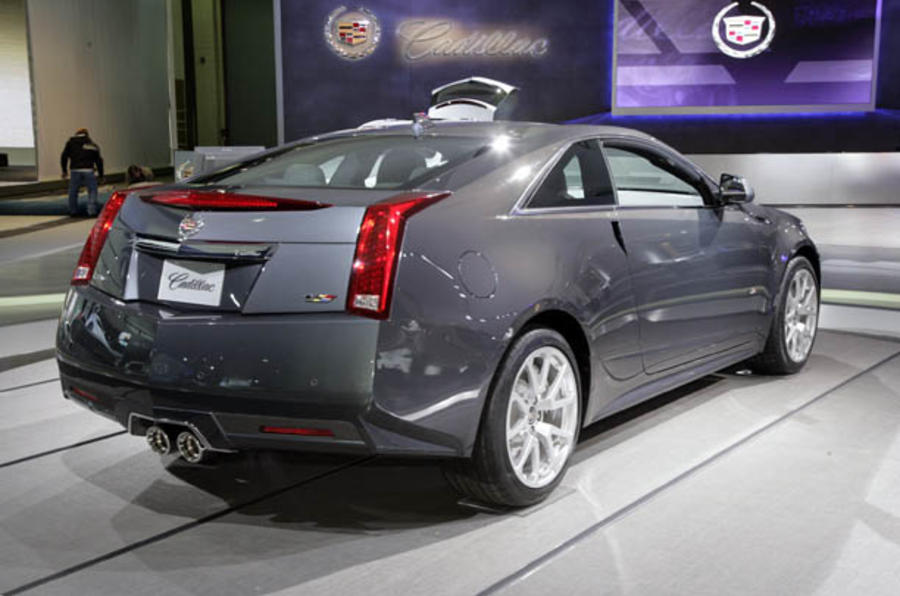 Detroit motor show: Cadillac CTS-V Coupe