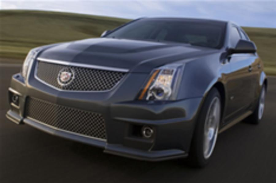 Cadillac CTS-V comes to the UK