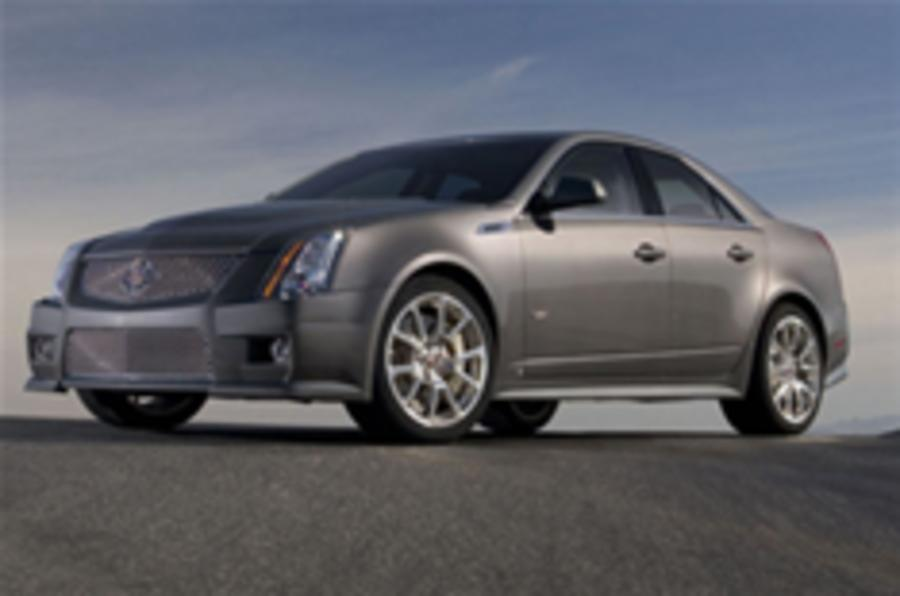 Official pictures of the Cadillac CTS-V