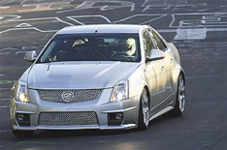 Cadillac CTS-V is king of the 'Ring