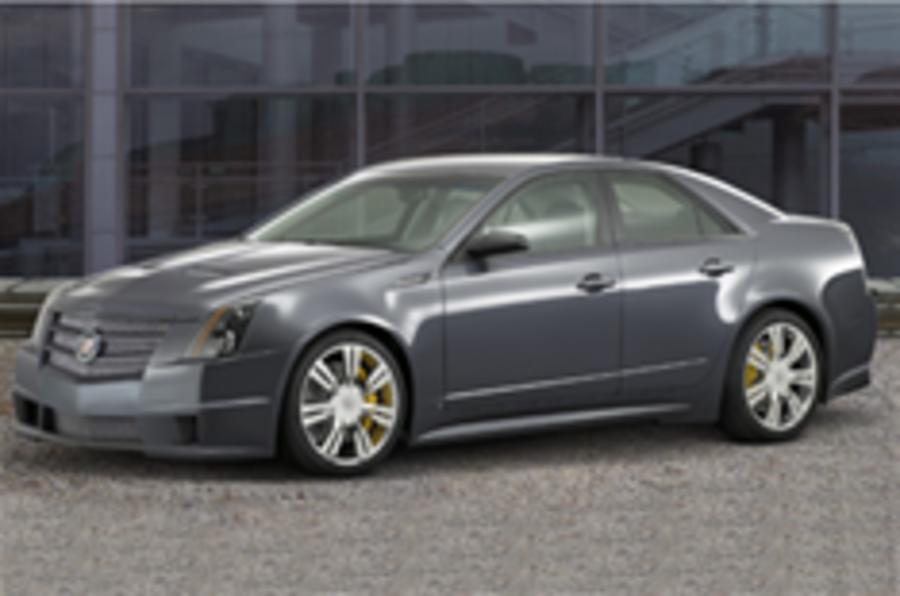 Cadillac CTS-V gets 4WD, but no UK visa?