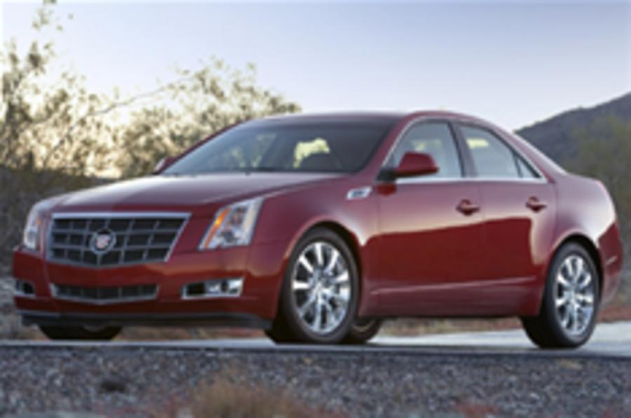Detroit show: new Caddy CTS