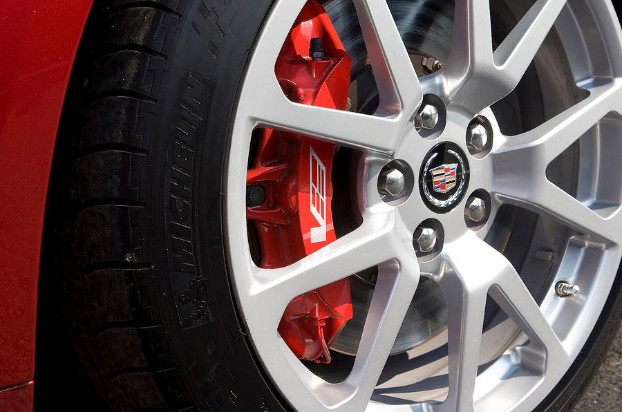 19in Cadillac CTS-V alloy wheels