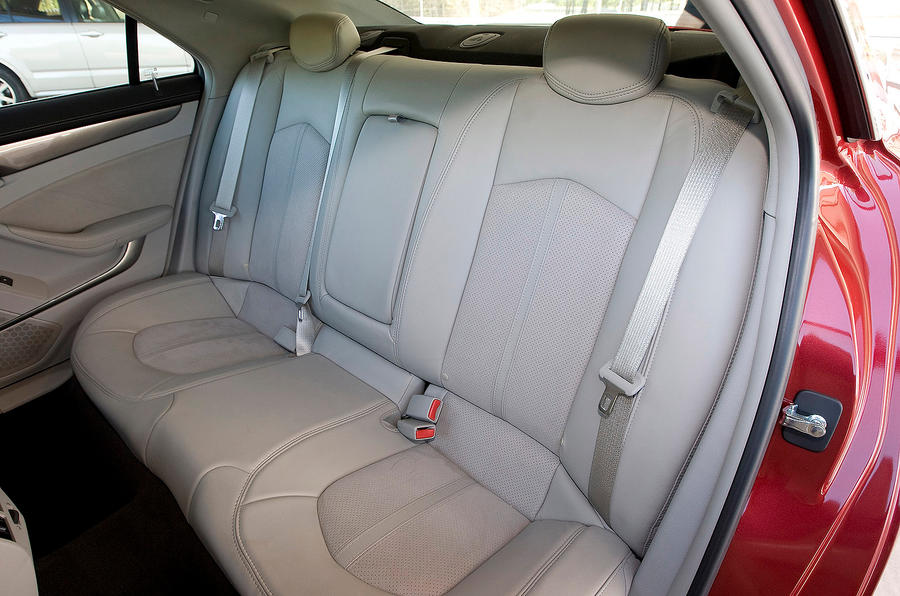 Cadillac CTS-V rear seats