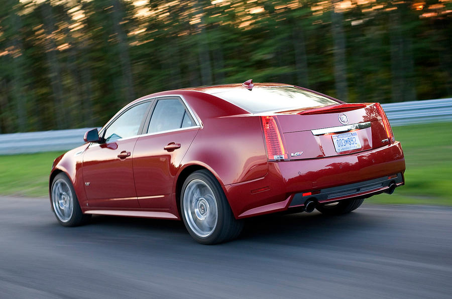 Cadillac CTS-V rear quarter