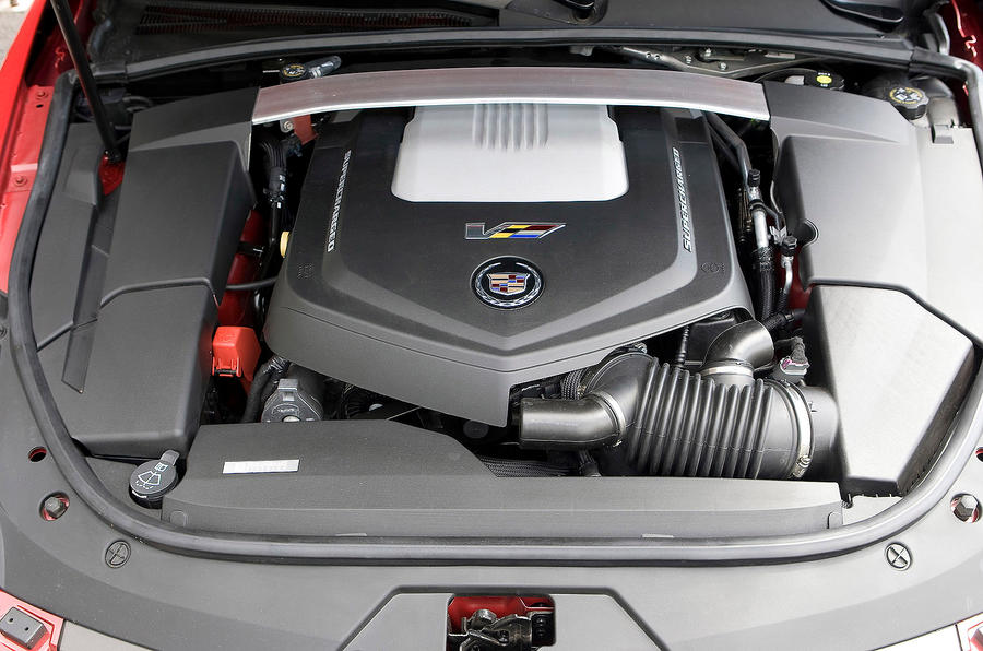Cadillac CTS-V 6.2-litre V8 engine