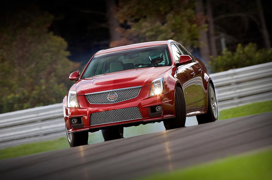3 star Cadillac CTS-V super saloon