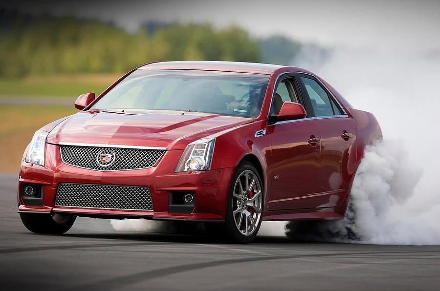 The 556bhp Cadillac CTS-V