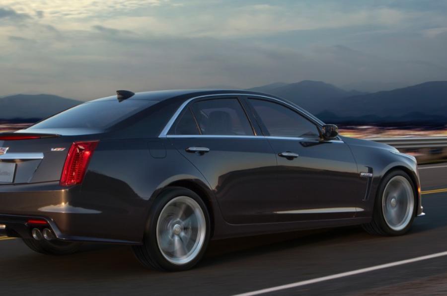 Cadillac CTS-V rear
