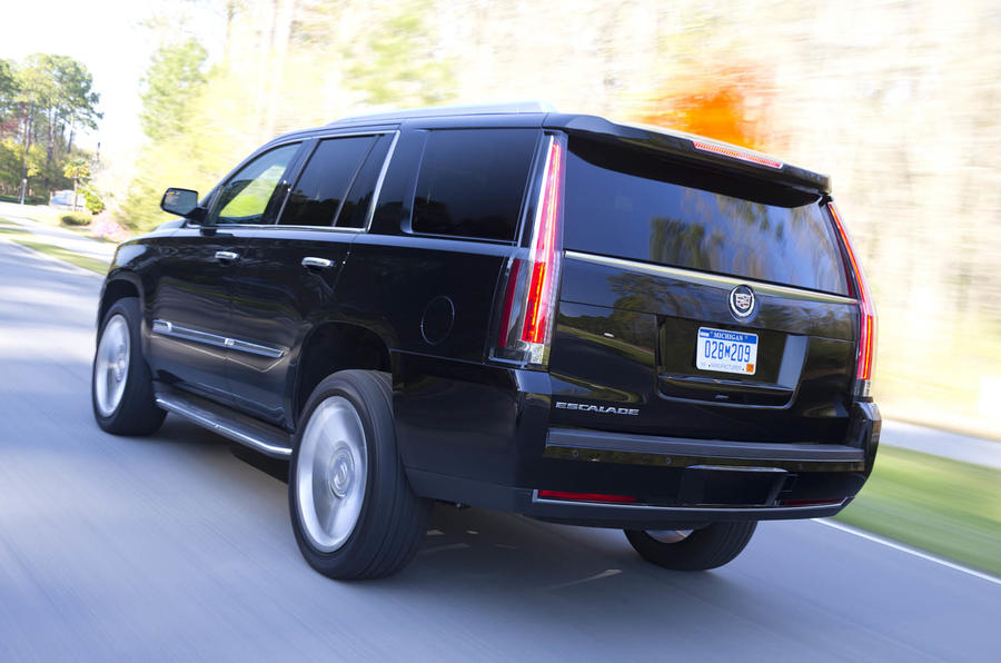 Cadillac Escalade Platinum rear