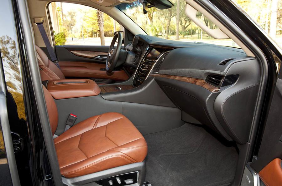 Cadillac Escalade front seats