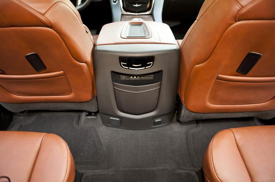 Cadillac Escalade rear seats