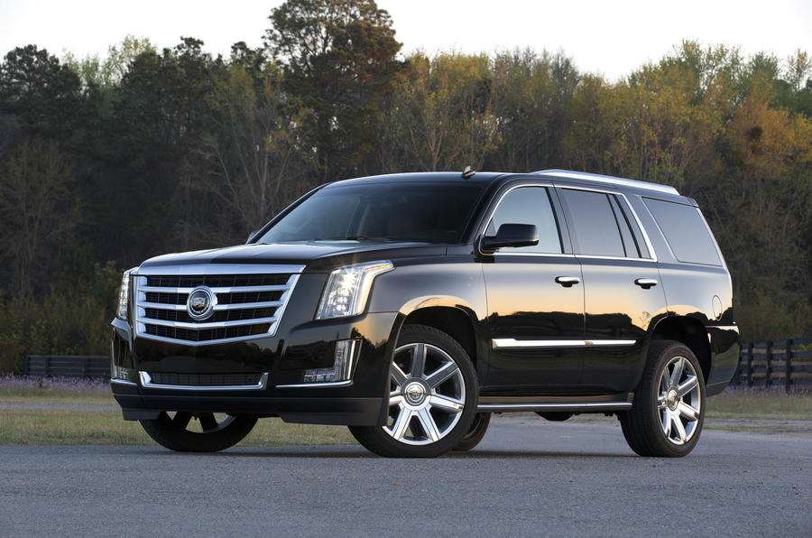 The 420bhp Cadillac Escalade Platinum