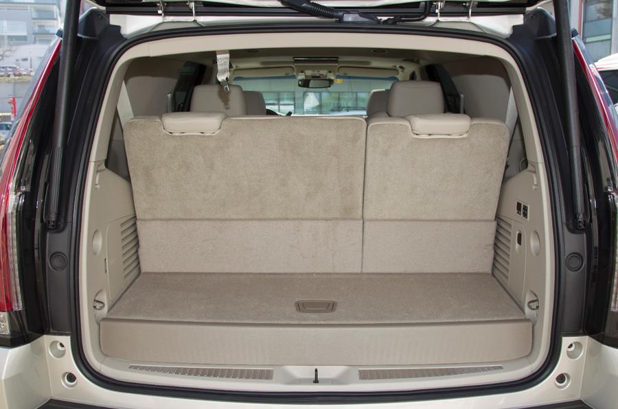 Cadillac Escalade boot space