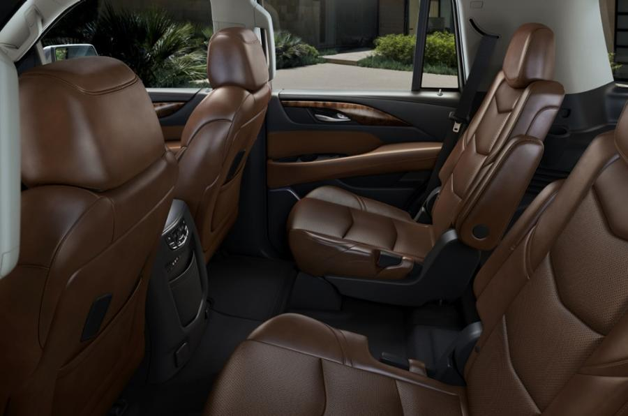 Cadillac Escalade rear seats