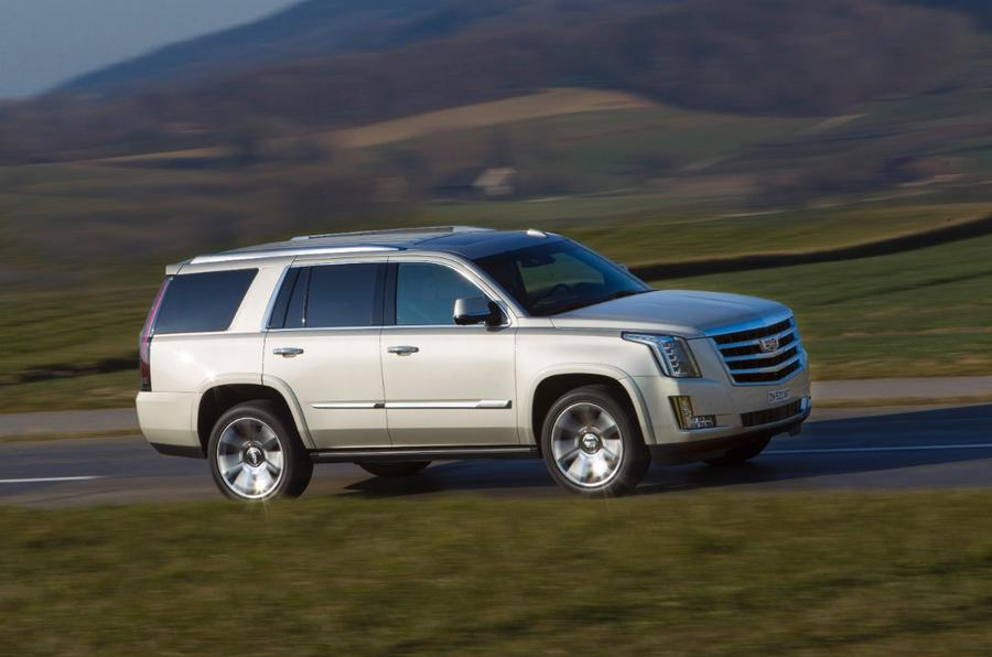 Cadillac Escalade side profile
