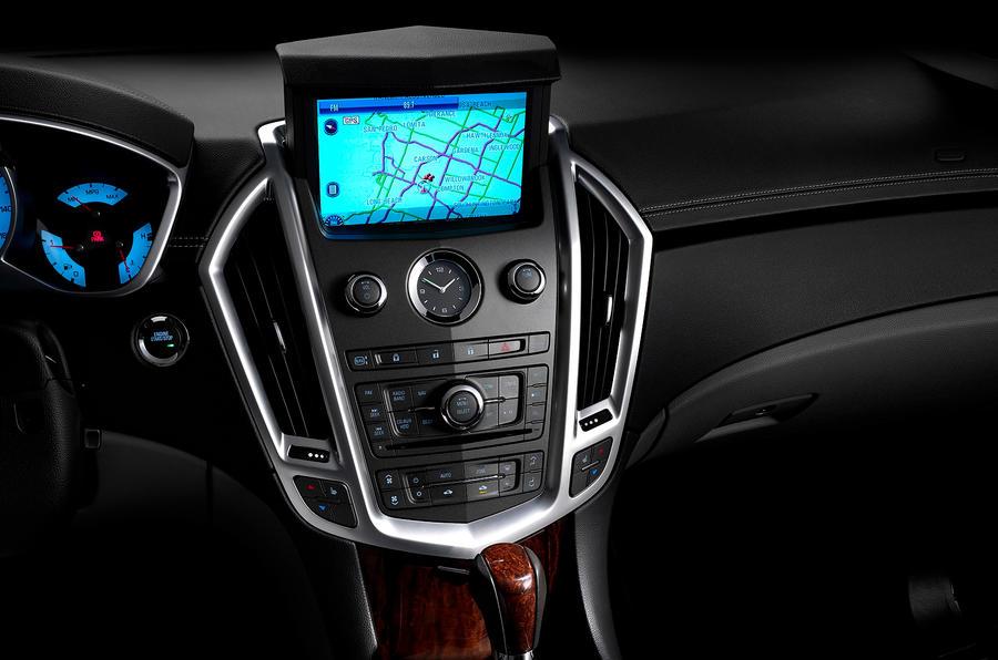 Cadillac SRX infotainment system