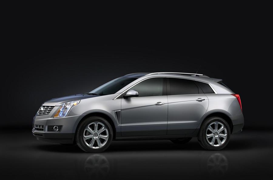 New York show: Cadillac SRX