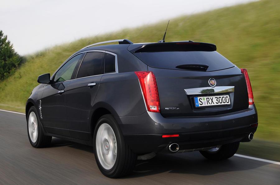 Cadillac SRX rear