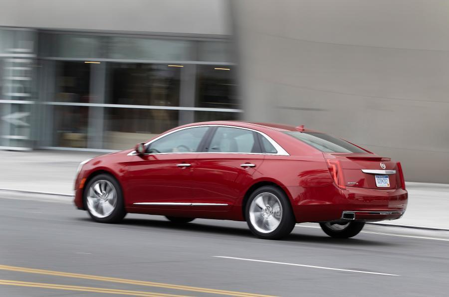 Cadillac XTS rear