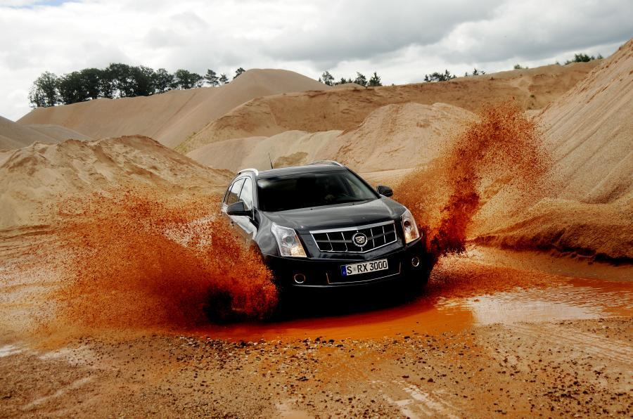 Cadillac SRX off-roading