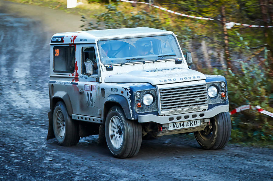 Racing in the Land Rover Defender Challenge - picture special