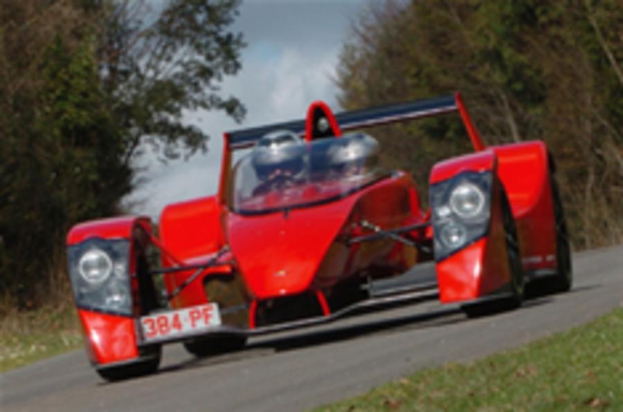 Caparo T1 to make debut at Goodwood