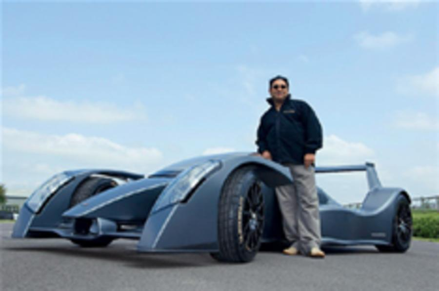Caparo to build its own road cars