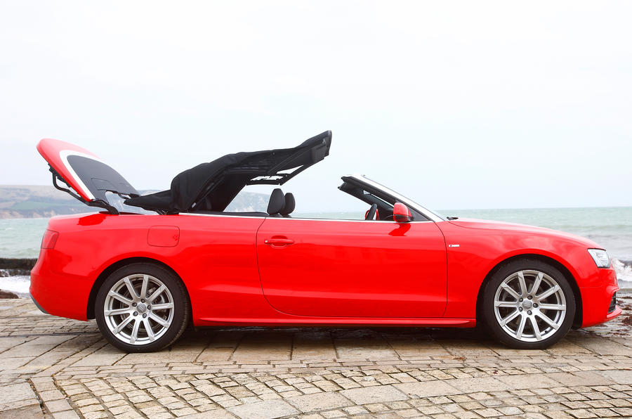 Top down, looking up - Vauxhall Cascada versus Audi A5
