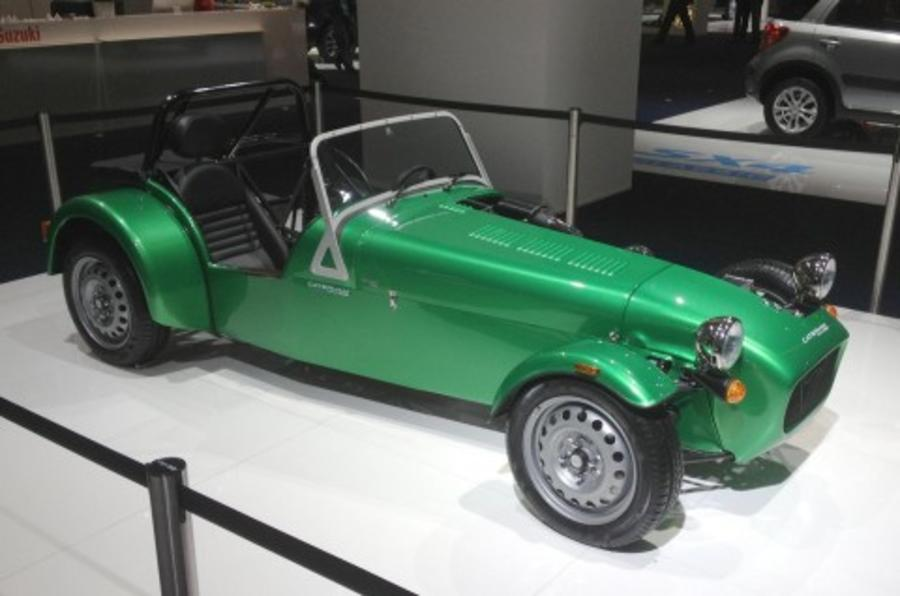 Why steel wheels are the best part of Caterham's entry-level Seven