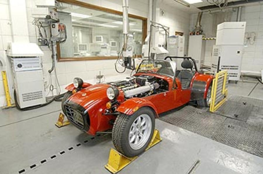 Caterham to reveal electric plans