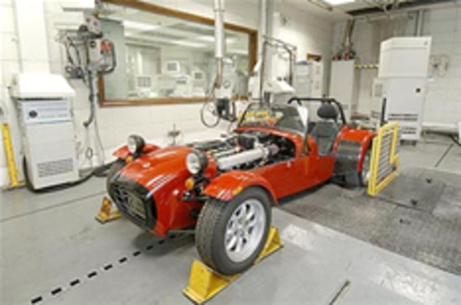 Caterham production increased