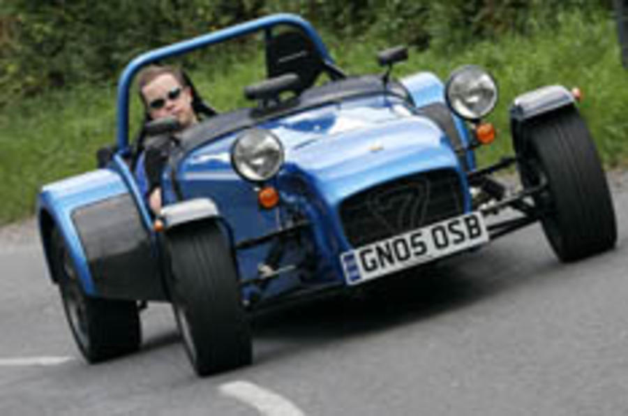 Low-fat Caterham strikes back