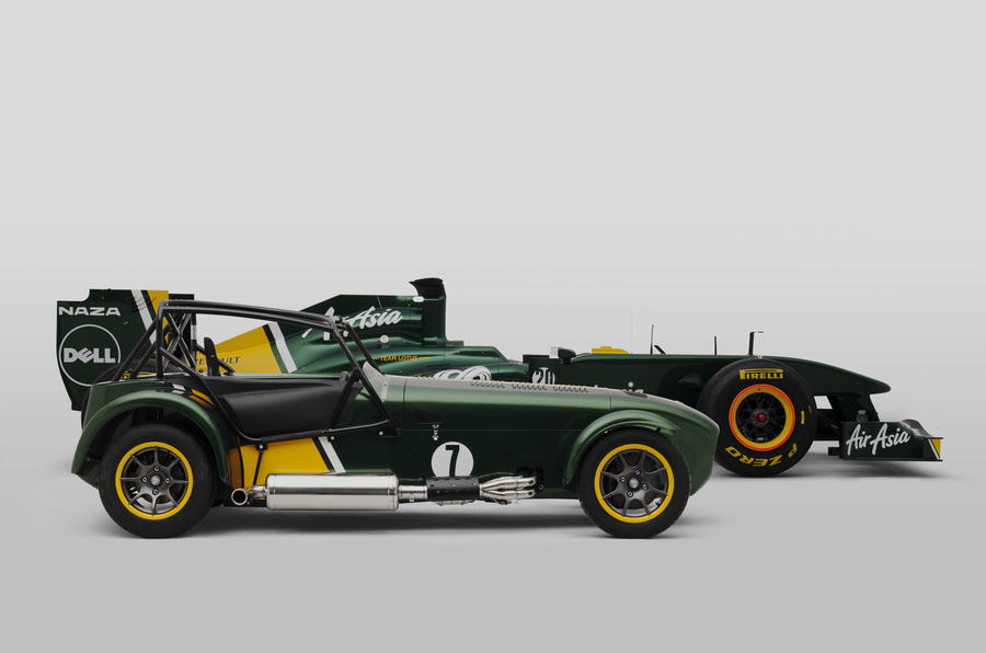 Lotus F1 boss buys Caterham