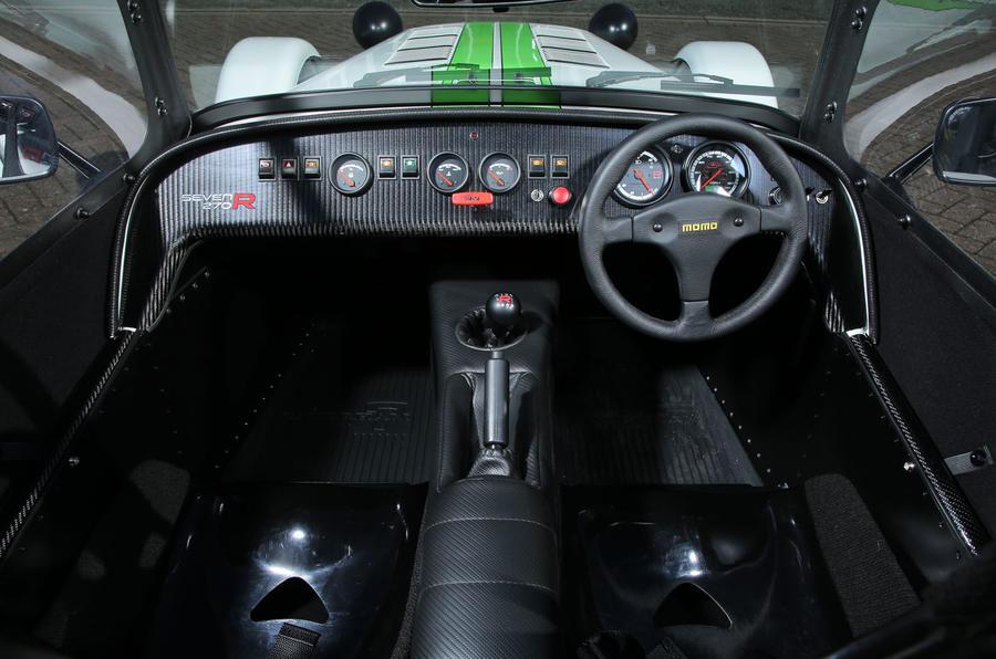 Caterham 270R interior
