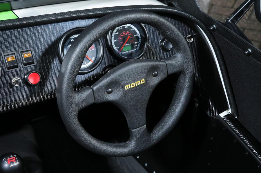Caterham 270R steering wheel
