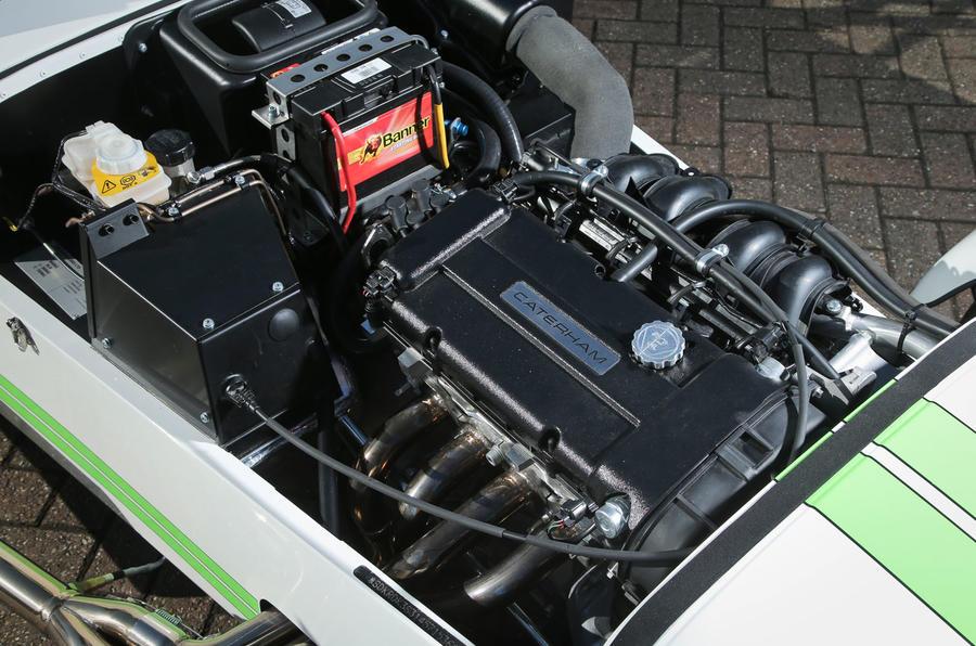 Caterham 270R 1.6-litre Ford engine