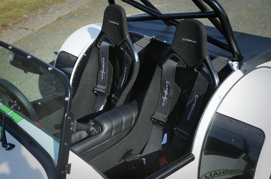Caterham 270R sport seats