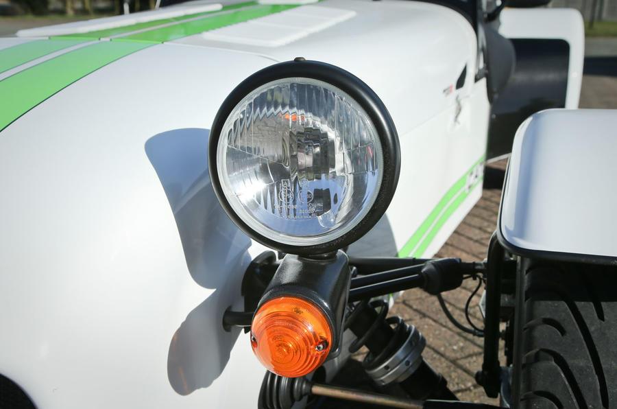 Caterham 270R front headlight