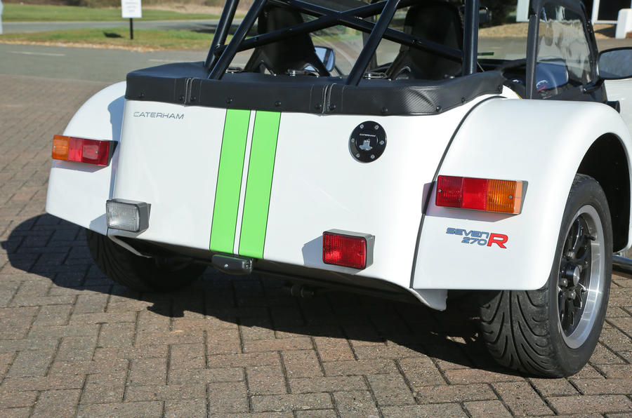 Caterham 270R tailights