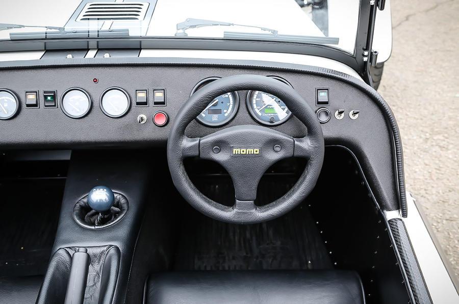 Caterham 270S interior
