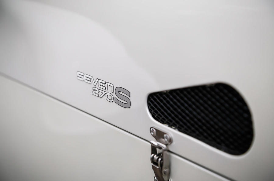 Caterham 270S badging