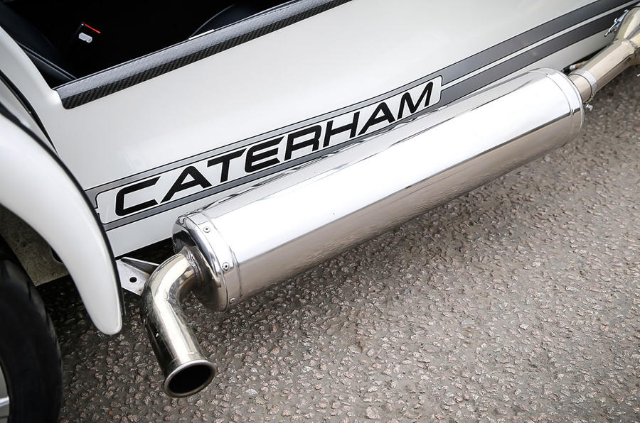 Caterham 270S exhaust system