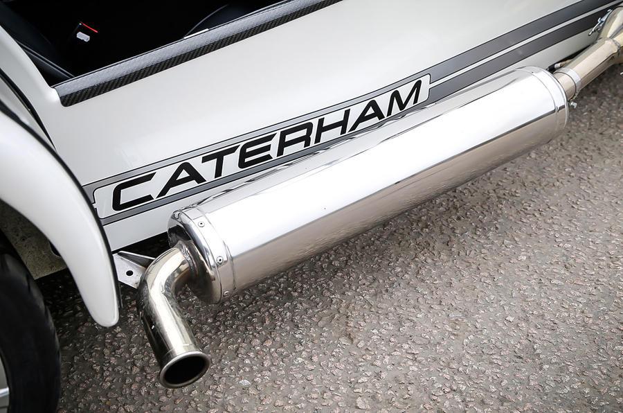 Caterham 270S exhaust system