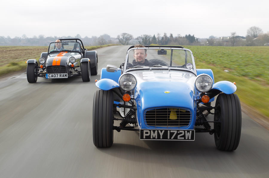 The Caterham Seven Is 40 Years Old Has It Changed Much