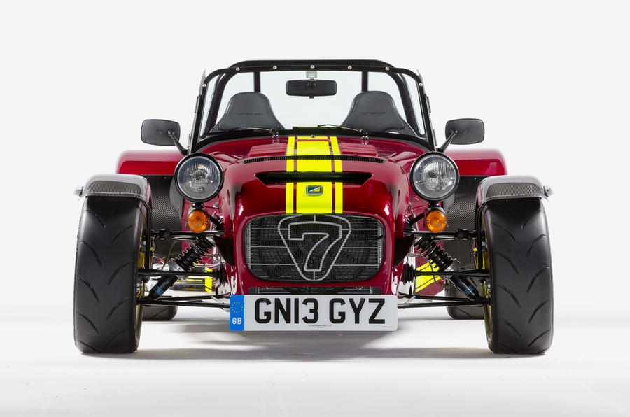Caterham 620R for Goodwood premiere