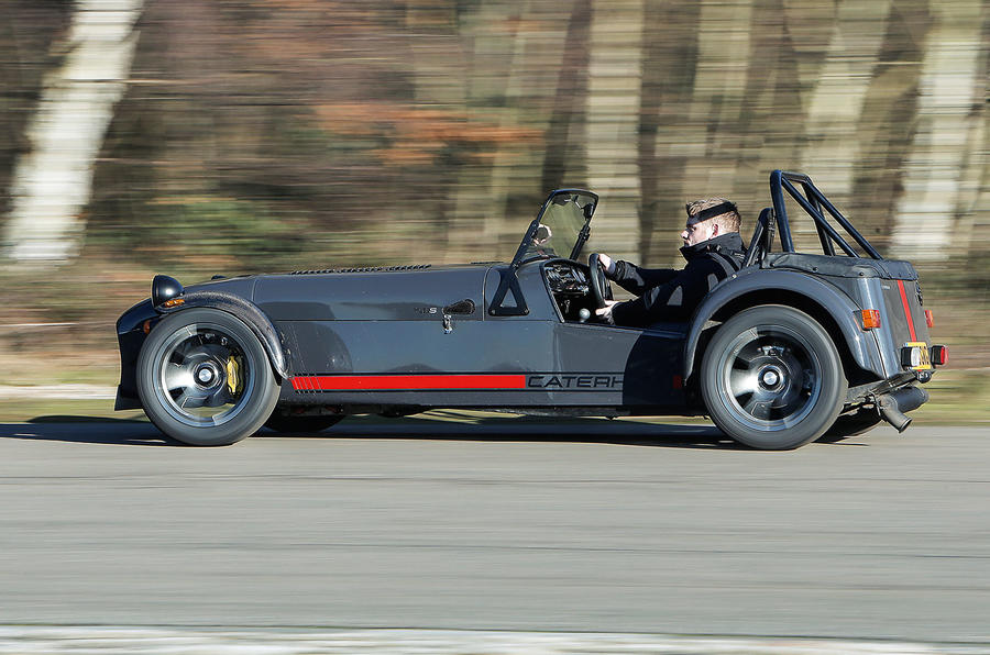 Caterham 620S side profile