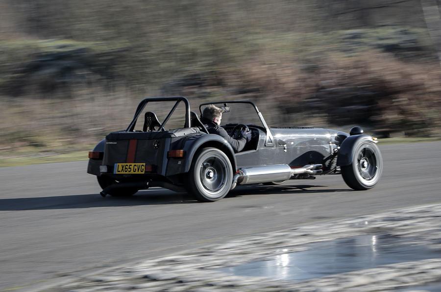 Caterham 620S rear quarter