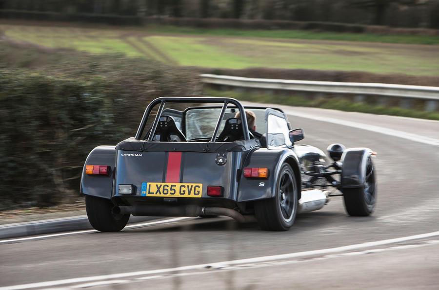 Caterham 620S rear cornering
