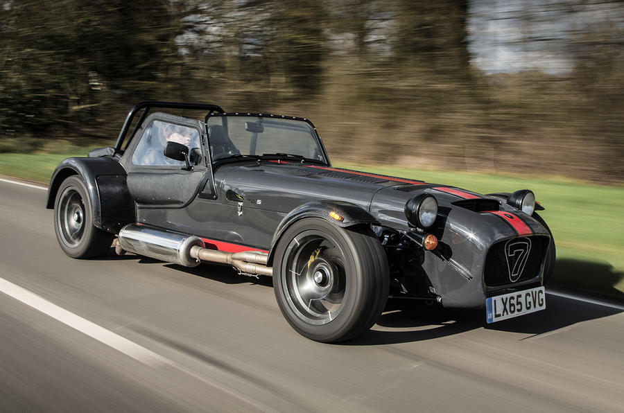 The Caterham 620S lightweight